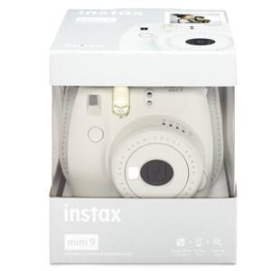 Fujifilm Instax Mini 9 white + 10 film 70100138446