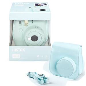 Fujifilm Instax Mini 9 blue+film+púzd 770100138441