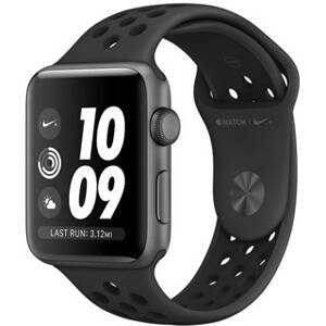 APPLE Watch SERIES 3 NIK SG ALU Case Sport Bl 38mm