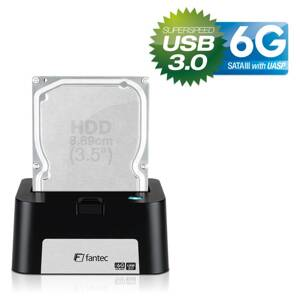 FANTEC MR-U3-6G DOCKING STATION black USB 3.0