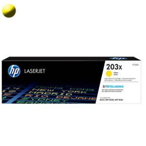 HP Toner  CF542X 203X yellow