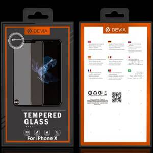 DEVIA Classic Temperated Glass for iPhone X Clear