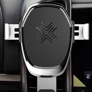 ROCK Gravity Wireless Car Charger 10W Silver