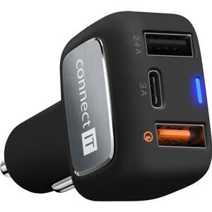 CONNECT-IT InCarz QUICK CHARGE 3.0