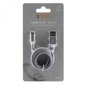 SBOX IPH7-GR Apple Lightning/USB-A šedý 1,5m