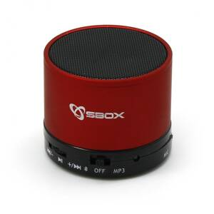 SBOX Bluetooth reproduktor red BT-160R