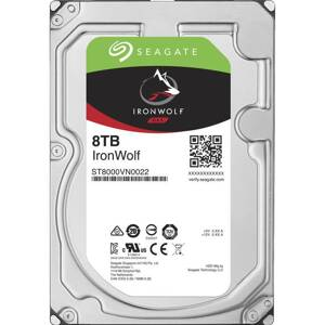 "SEAGATE Iron Wolf 8TB/3,5""/256MB/26mm"