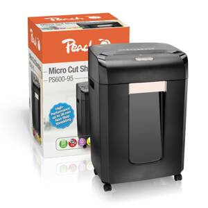 PEACH Skartovač Micro Cut Shredder PS600-95