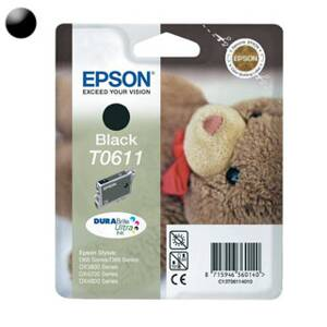 EPSON - Cartridge T0611 black C13T061140