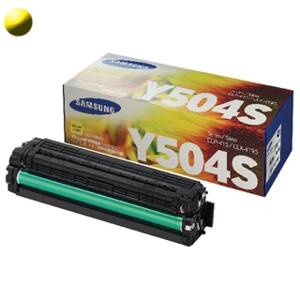 HP Toner Yellow CLT-Y504S SU502A