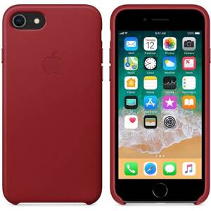 APPLE Leather Case iPhone 8/7 (PRODUCT)RED