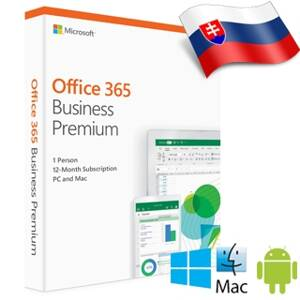 MS Office 365 Bussines Premium SK 1rok ML