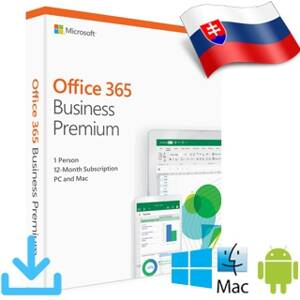 MS Office 365 Business Premium SK 1rok