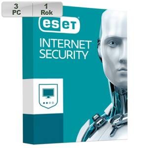 ESET Internet Security 2019 3PC na 1r