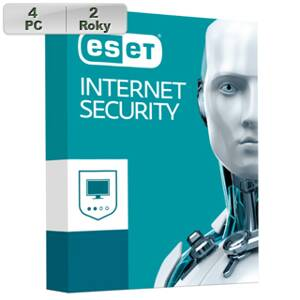 ESET Internet Security 2019 4PC na 2r