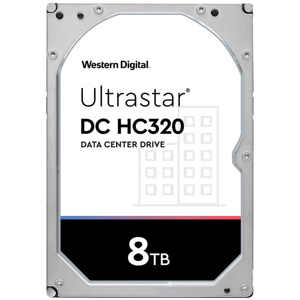 "WD Ultrastar DC HC320 8TB/3,5""/256MB/26mm"