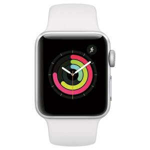 APPLE Watch SERIES 3 GPS Si ALU Case Sport WH 38mm