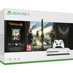 XBOX ONE S 1TB +  Tom Clancy Division 2