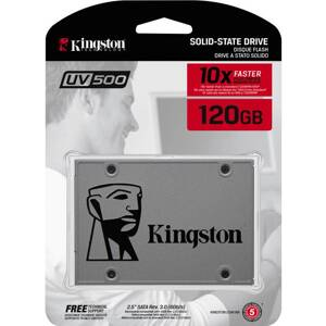 "KINGSTON SSD UV500 120GB/2,5""/SATA3/7mm"