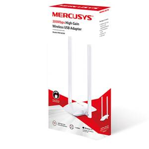 MERCUSYS 300Mbps High Gain Wireless USB Adapter