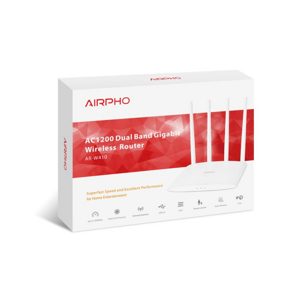 AIRPHO Wifi AC 1200Mbps AP/router, USB, Gigabit