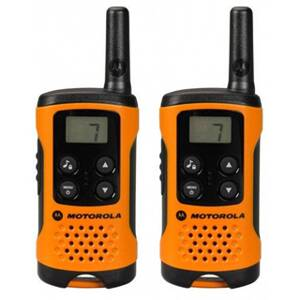 MOTOROLA T41 WALKIE TALKIE Orange