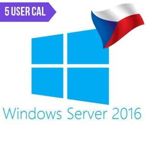 MICROSOFT Windows Server 2016 5 user CAL CZ OEM