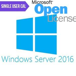 MICROSOFT Windows Server 2016 Sin. user CAL MOL
