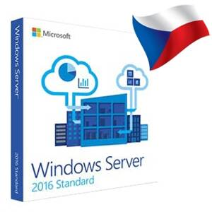 MICROSOFT Windows Server ST 2016 x64 16 CZ OEM