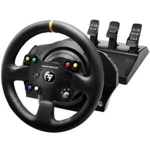 THRUSTMASTER Volant a pedále TX Leather