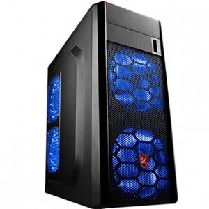X2 PC skrinka T6 Gamer Case X2-S1506B-CE/R-U3