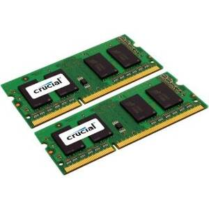 SO DIMM - CRUCIAL 2x2GB DDR2 800MHz CL6