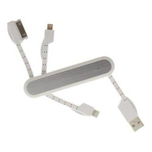 DELTACO USB kabel Micro/Apple/Lightning