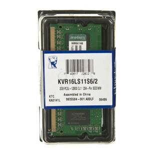 SO DIMM - KINGSTON DDR3 2GB KVR16LS11S6/2