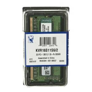 SO DIMM - KINGSTON DDR3 2GB KVR16S11S6/2
