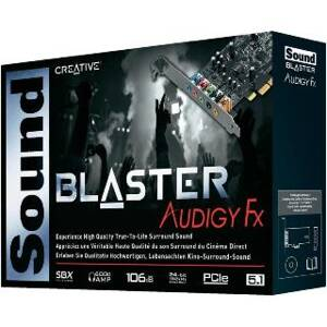 Creative - Sound Blaster Audigy FX PCI Expres