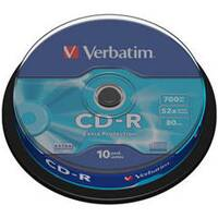 CD MED  VERBATIM 700MB EXTRA 52speed 10cake