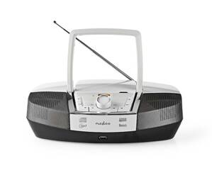 Rádio FM / USB / CD / BLUETOOTH NEDIS SPBB200WT WHITE