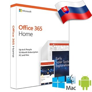 MS Office 365 Home SK 1rok ML