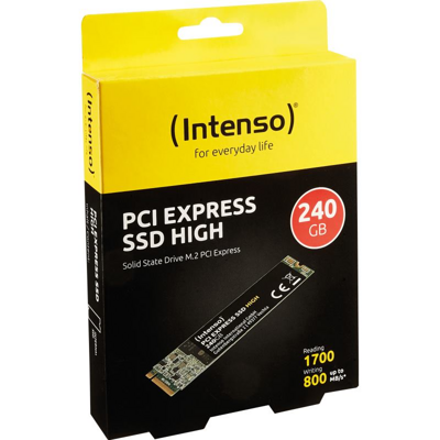 INTENSO SSD PCI Express 240GB/M.2 2280/M.2 NVMe