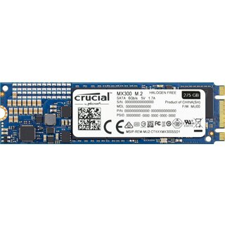 CRUCIAL M.2 MX300 Solid State Drive 275GB