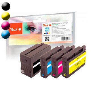 PEACH Cartridge pack HP No. 932/933 PI300-708