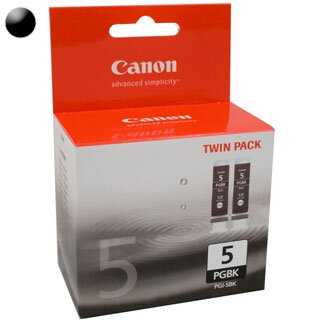 CANON Cartridge PGI-5Bk Twin pack black