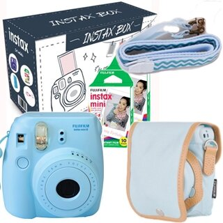 Fujifilm Instax Mini 8 BIG BOX 2017 (BLUE)