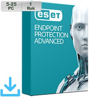 ESET Endpoint Prot Adv 2018 5-25PC na 1r