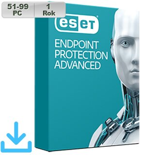 ESET Endpoint Prot Adv 2018 51-99PC na 1r