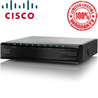 Cisco SG 200-08 8-port Gigabit Smart Switch