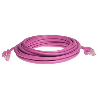 PATCH KABEL FTP cat.6, 0.5m pink