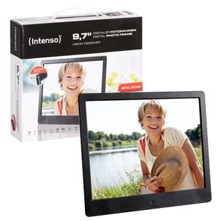 "LCD PHOTO FRAME -- Intenso 9,7"" Media Designer"