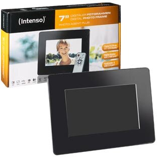 "LCD PHOTO FRAME -- Intenso 7"" Photo Agent PLUS"